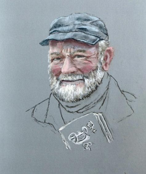066 Michael Kitchen Age: 78, Banff Banff's oldest paperboy