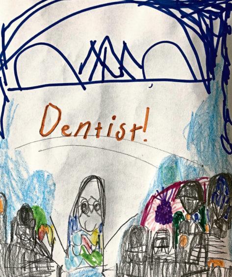 086 Ikemdinachukwu Ejeh Age: 5, Aberdeen NHS Dentist!