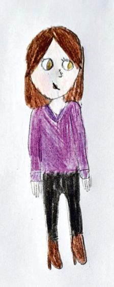 136 Georgia Read Age: 9, Lossiemouth My mum is a lockdown home school hero