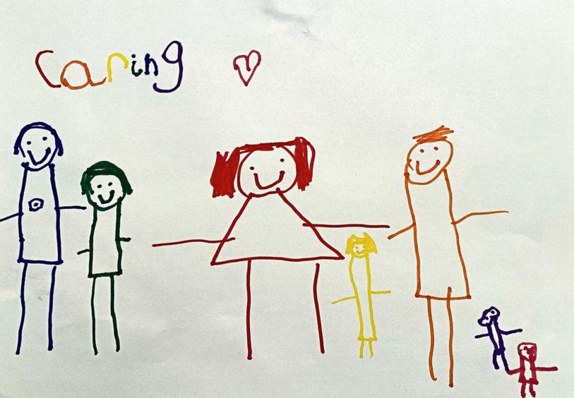 137 Jude Saint Age: 6, Inverness Jude, Mummy, Daddy, Granny and Grandpa