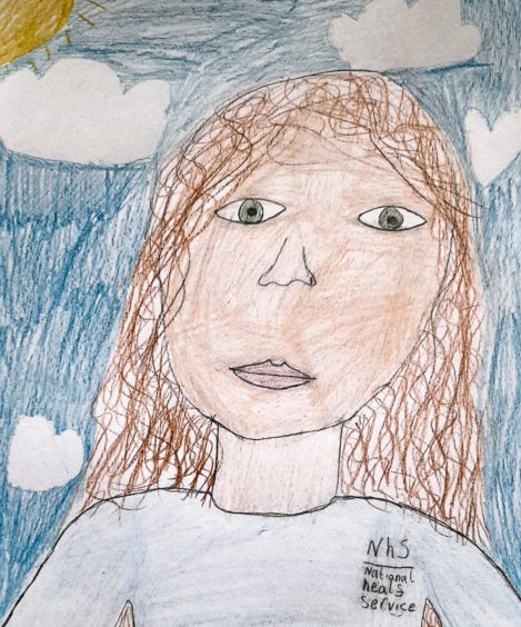 119 Chloe Simpson Age: 9, Old Rayne My mum is an NHS worker. She is my hero