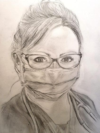 128 Amy Robertson Age: 35, Buckie Hospital hero