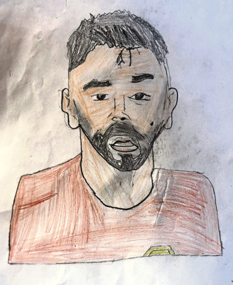 126 Sam Mclean Age: 12, Elgin This is my hero Bruno Fernandes