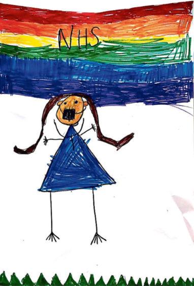 188 Amelia McLachlan Age: 6, Johnshaven NHS doctor