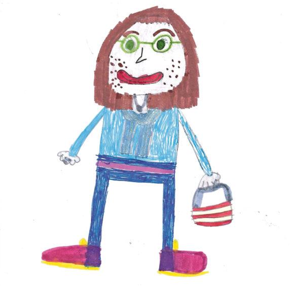 172 Poppy Bethell Age: 8, Lossiemouth My hero, my mummy
