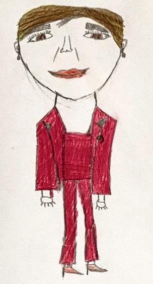 192 Ivy Matthew Age: 11, Portlethen Nicola Sturgeon is my lockdown hero