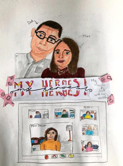 212 Abi Leslie Age: 11, Tarves Home school heroes