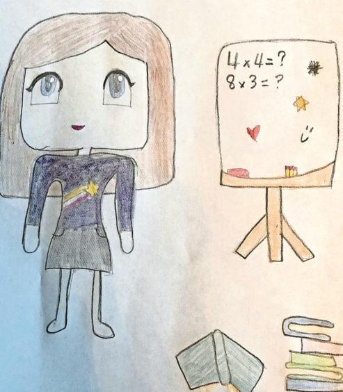 320 Iris Main Age: 9, Newtonhill Homeschool parents are heroes