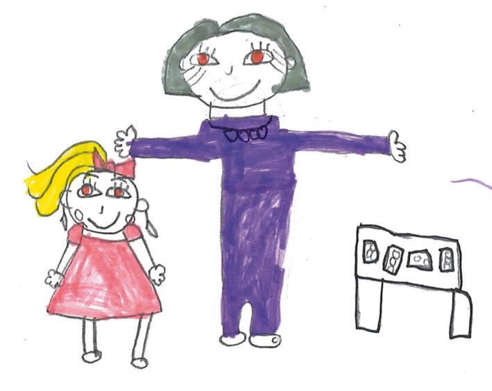 256 Sophia Reid Age: 7, Aberdeen Ruby Walker (my nana)
