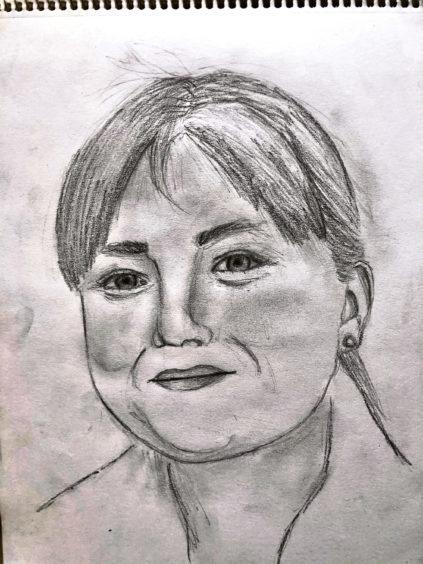 292 Charlotte Mackie Age: 13, Elgin This is my mum, she is my hero