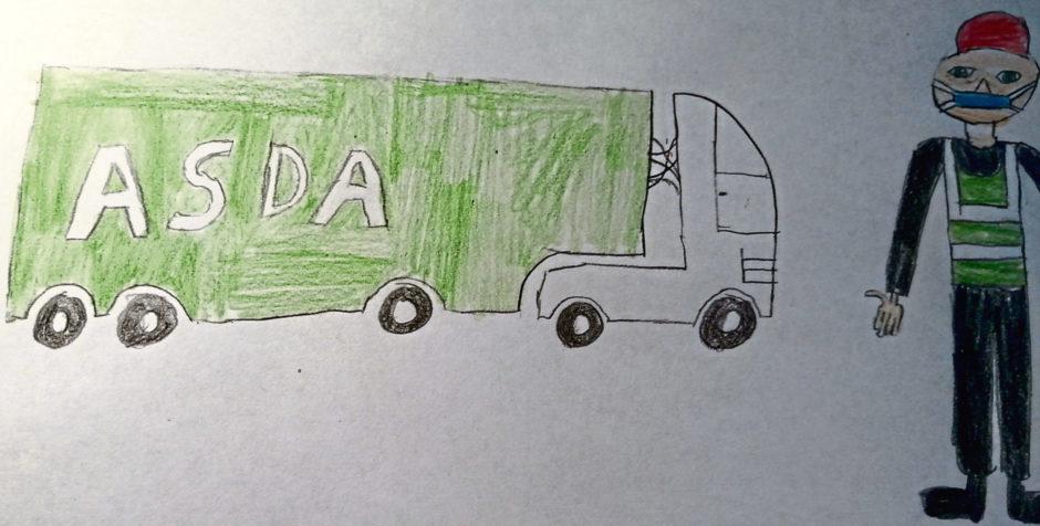 323 Leon Sulkowski Age: 13, Elgin Truck Drivers are my heroes