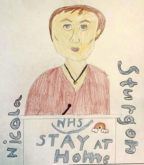 311 Isla Ross Age: 9, Dingwall Nicola Sturgeon