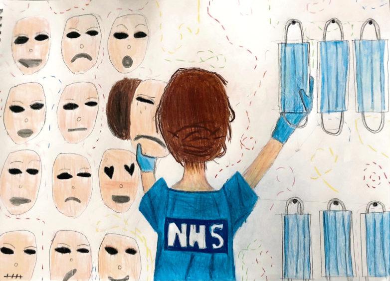 366 Darcey Taylor Age: 13, Elgin NHS are my lockdown heroes