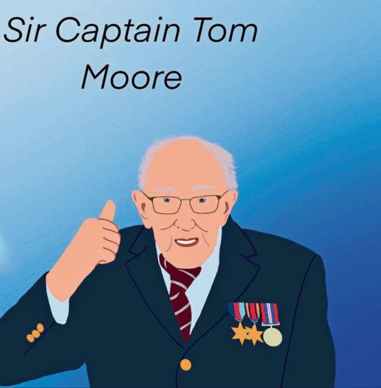368 Mya Harrold Age: 13, Elgin Captain Sir Tom Moore is my lockdown hero