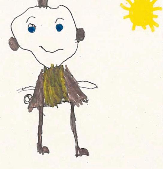 376 Ricci Palmer Age: 7, Mintlaw I drew a policeman as they keep people safe