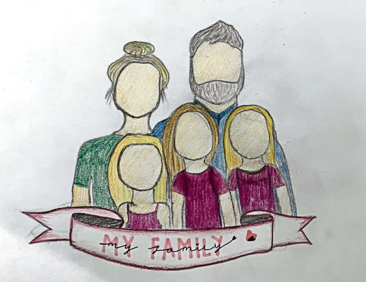 410 Kirstin Oddie Age: 13, Aberdeen My family are my heroes