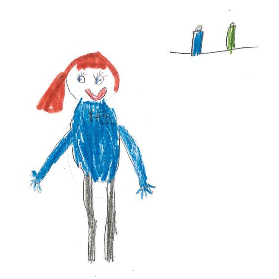 446 Kayla Evans Age: 6, Aberdeen NHS