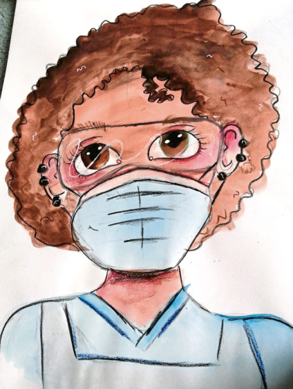 401 Lyla Russell Age: 13, Elgin My NHS heroes