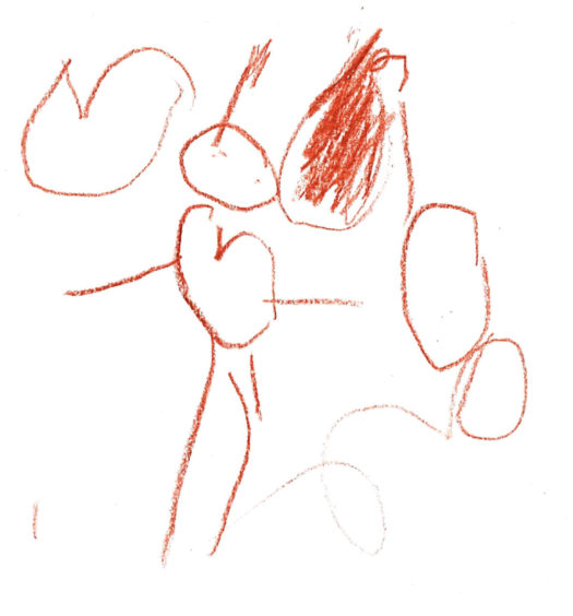 416 Amelia Duthart Age: 4, Aberdeen I love my mummy because she plays the penguin game with me