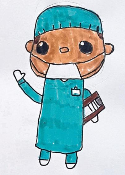 471 Hanna Dados Age: 9, Elgin Doctors are my heroes