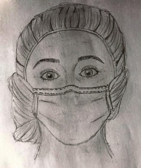 501 Kirsten Maclure Age: 13, Aberdeen Nurses are my lockdown heroes