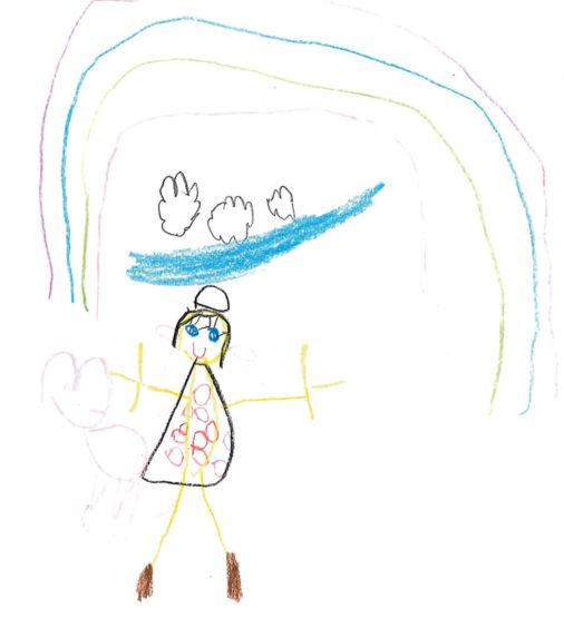 519 Milli McQueen Age: 5, Aberdeen Because my teacher helped me with my school work