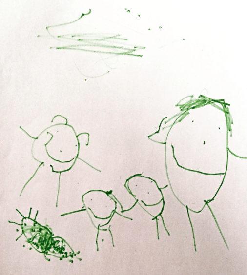 527 Katie Townson Age: 5, Stuartfield I love my family