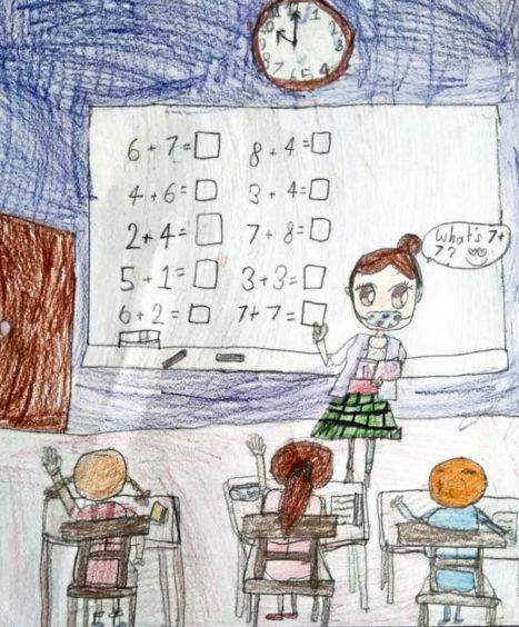 528 Emmeline Ahrenst Age: 7, Kintore Teachers are my heroes