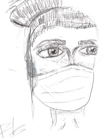 560 Paige Brodie Age: 9, Inverurie NHS are my heroes