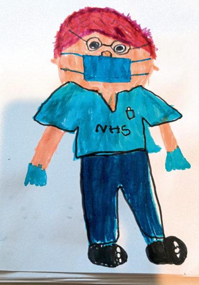 601 Raegan McPhail Age: 5, Aberdeen My nanny Diane has worked in the hospital all through lockdown