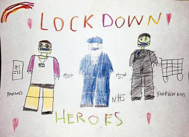 593 James McKenna Age: 12, Elgin Lockdown Heroes