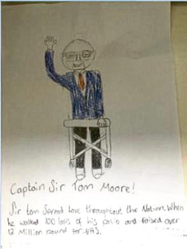 580 Sarah Mackenzie Age: 12, Aberdeen Sir Tom spread love to the nation