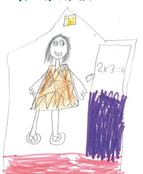 598 Tolu Adebayo Age: 6, Aberdeen Teacher