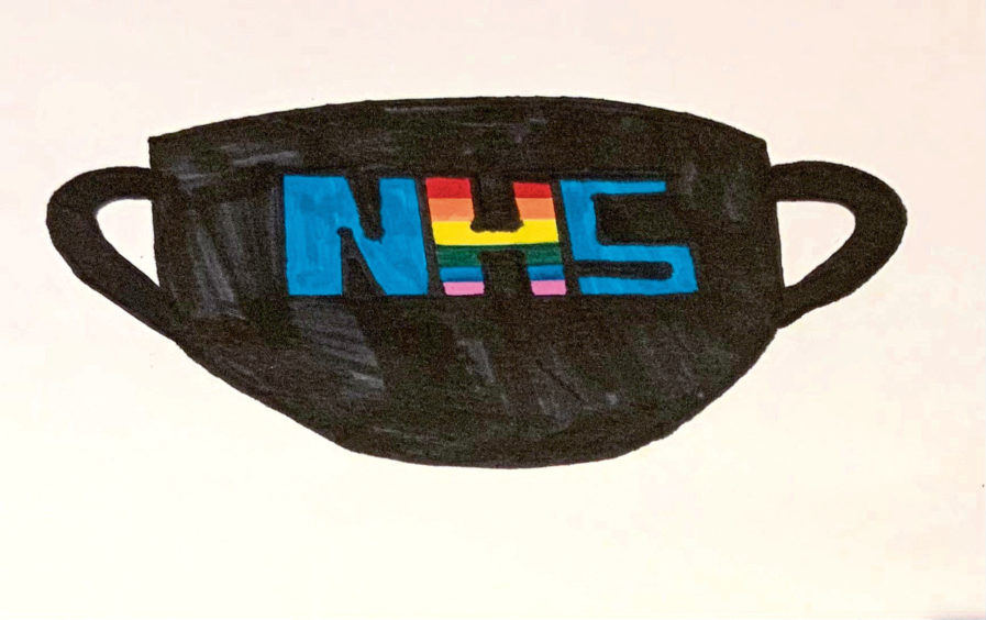 599 Millie Mckenzie Age: 13, Elgin The NHS have kept the whole of Scotland from falling apart