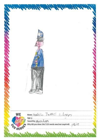 632 Melissa James Rodgers Age: 6, Aberdeen Policeman
