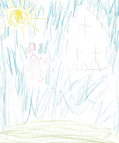 652 Ellie Bruce Age: 5, Aberdeen Because my Mummy helps me do my school work