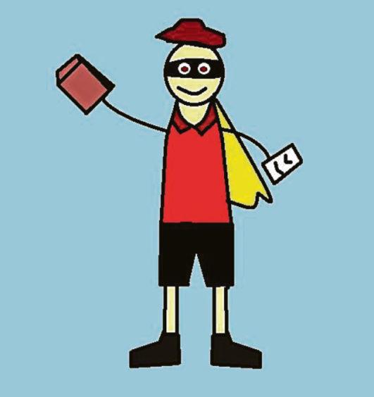 658 Haris Shahid Age: 14, Aberdeen Charles, my postman, is my hero