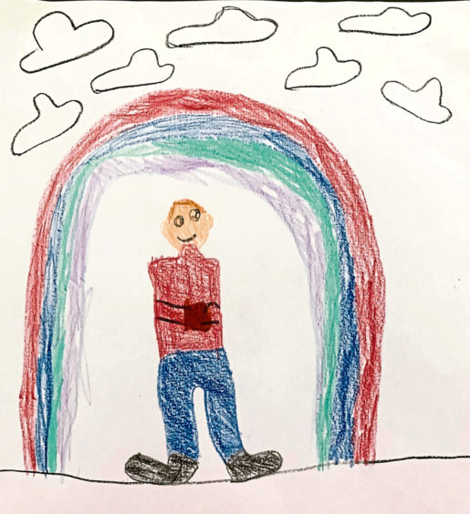 660 Joshua Webster Age: 8, Mintlaw The busy postman