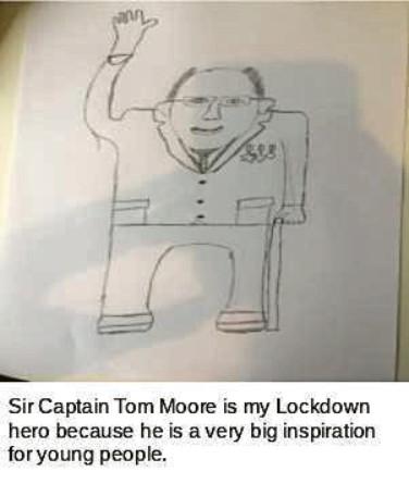 643 Lewis Doyle Age: 13, Aberdeen Captain Sir Tom Moore is my hero