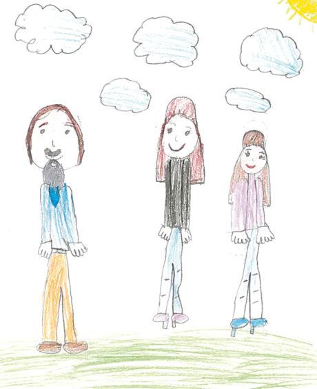 687 Veronica Miszta Age: 6, Aberdeen Because I love my family