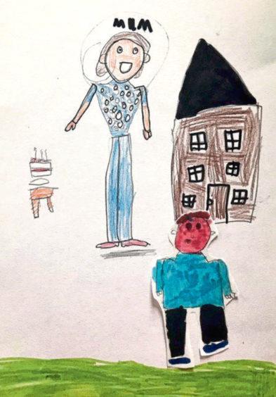 705 Josie Sandison Age: 7, Whalsay My Mum is my hero