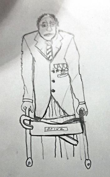 696 Samuel Dry Age: 12, Elgin We art our heroes