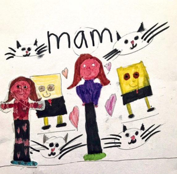 699 Iona Laurenson Age: 7, Whalsay My Mam is my hero