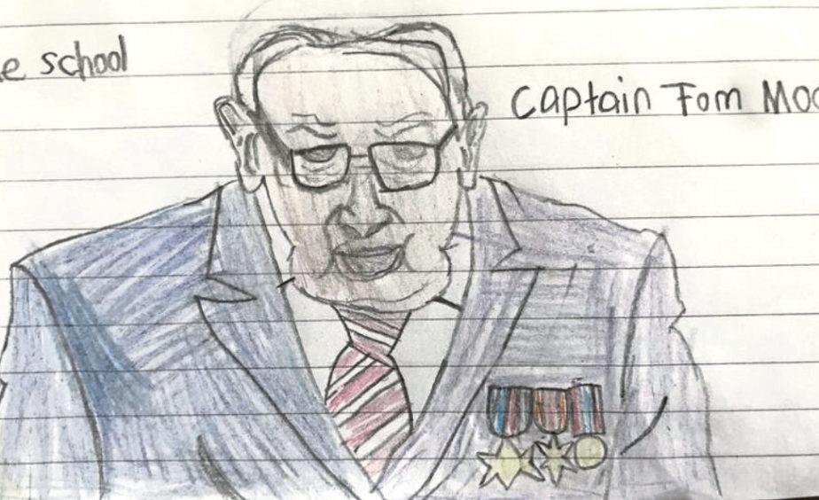 728 Millar Melladrum S1, Portlethen Captain Tom is my hero