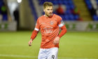 Clyde's David Goodwillie. Picture by Darrell Benns