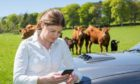 LIVE UPDATES: The app technology allows farmers to share livestock info with vets.