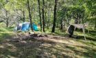 Abandoned campsite in Glen Nevis, Lochaber. Nathan Berrie
