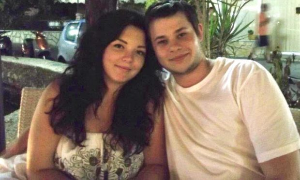 Aimee Preston and Luke Shepherd