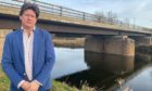 Alexander Burnett has launched a petition calling for Aberdeenshire Council to receive more cash for bridge repairs.