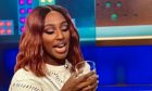 Alexandra Burke samples  the Dalmunach.